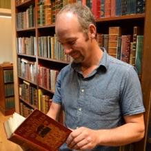 Jon Gilbert (photo:www.harringtonbooks.co.uk)