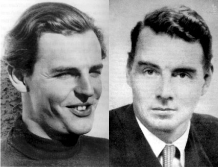 Donald Maclean and Guy Burgess
