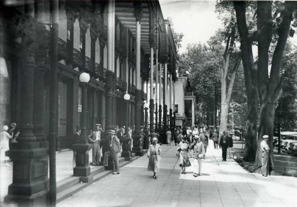 Saratoga Springs in the 1950s