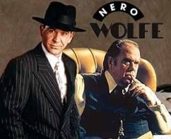 Timothy Hutton as Archie Goodwin and Maury Chaykin as Nero Wolfe