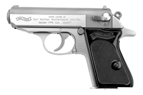 Walther PPK chambered in .32 ACP