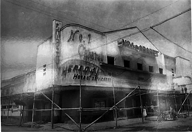 Night club for Amercian servicemen early 1950s.