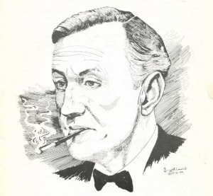 Ian Fleming by George Almond