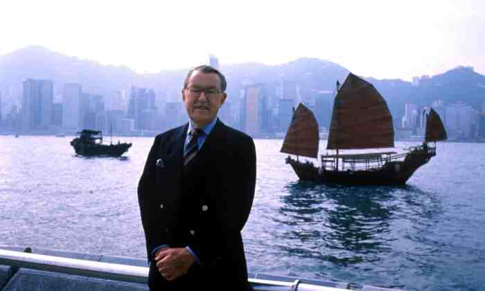 Alan Whicker on his travels in Hong Kong
