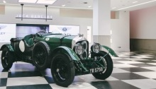 Bentley 4½ Litre Blower at Jack Barclay Bentley
