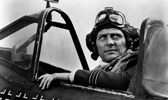 Robert Shaw in Battle of Britain