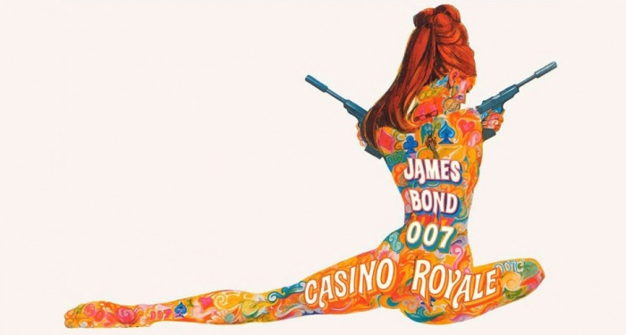 Original 1967 film poster for Casino Royale – Artist: Robert E. McGinnis