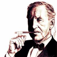 Ian Fleming - Artwork by Pat Carbajal