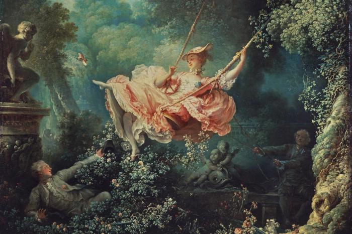 Jean-Honore Fragonard's The Swing