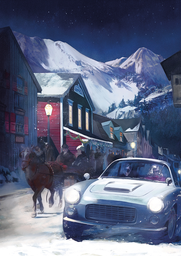 Illustration ©2020 Fay Dalton from The Folio Society edition of On Her Majesty's Secret Service