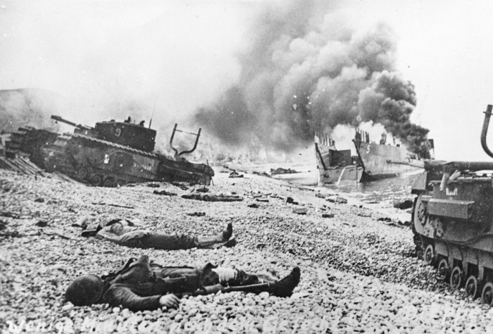 The ill-fated Dieppe Raid [Source Wikipedia]